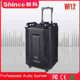 Shinco Professional Wireless Bluetooth караоке тележка для использования вне помещений 12''hifi-динамик