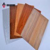 Черный Ideabond орех деревянные алюминиевые Сэндвич панели (AE-303)