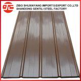 Strato d'acciaio ondulato del tetto di buona qualità dei materiali da costruzione