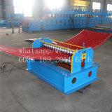 Rodillo de acero acanalado del azulejo del color que forma la máquina que prensa de la azotea