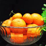 全透過浮彫りになる食糧およびフルーツテーブルウェアガラス・ボールの瓶