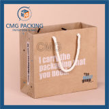 Logo (CMG-MAY-027)를 가진 알맞은 Sports Kraft Packing Bag