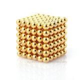 5mm N35 Gold Plating Permanente NdFeB Magic Magnetic Balls