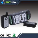 Commutateur à télécommande sans fil de 4 glissières (rf apprenant le code)