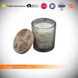 7X8 см ароматические свечи в стеклянный кувшин оболочку с табличкой бумаги и пылезащитную крышку в верхней части