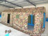 Vert grand parti tente militaire pour l'armée