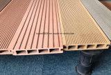Decking extérieur de Standardard avec des matériaux de WPC