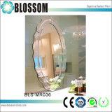 Elegante único MDF enmarcada colgada del espejo decorativo pared