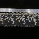 Мода Net пряжа вышивка кружева мягкий Аксессуары Одежда ткань из текстиля