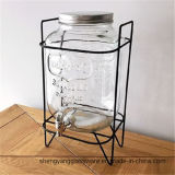 Горячие продажи напитков из стекла для очистки воды с краном