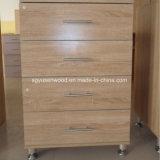 Prix bon marché de sabots de bois chambre à coucher armoire rack du caisson de nettoyage