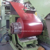 La qualité a enduit la bobine d'une première couche de peinture en acier d'Al-Zn pour la tuile en acier
