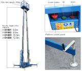 Prezzo di fabbrica per la piattaforma di lavoro dell'antenna della lega di alluminio dell'Doppio-Albero