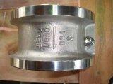 Tipo válvula da placa da bolacha único de verificação