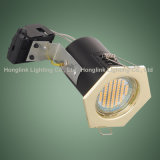 5W GU10 COB / SMD LED Downlight para fuego