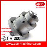 Maquinado CNC de parte de pulverización automática