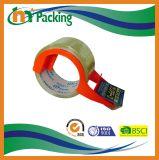 テープディスペンサーが付いているBOPPのパッキングテープ