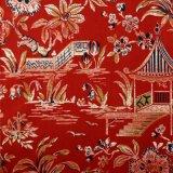 Tessuto del sofà della tessile della tappezzeria del poliestere del velluto di Digitahi Printint
