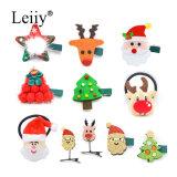 귀여운 크리스마스 선물 머리 보석 여자 아이들 머리 부속품