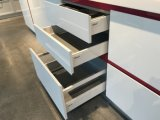 Insel-Art-moderne hohe Glanz-Lack-Küche-Schrank-Möbel 2018