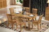 固体木の食事の机の居間の家具(M-X2869)