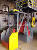 Macchina d'acciaio durevole di granigliatura del cingolo di Qingdao