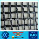 Pvc Met een laag bedekte Polyester Bxgrid Geweven Geogrid 60-60kn