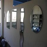 spiegel van de Vorm van 4mm de Onregelmatige Decoratieve Zilveren