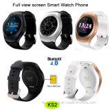 Téléphone intelligent de montre d'écran à pleine vue avec la fonction Ks2 de geste