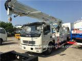 販売のためのDFAC 18m高度操作のトラックによって取付けられる空気のプラットホーム