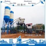 Equipo de planta de procesamiento por lotes por lotes concreto de mezcla concreto automático lleno de la estación 50m3
