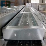 Planche d'acier d'échafaudage de 250*50 Pregalvanized