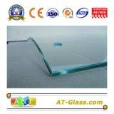 512mm Duidelijk Aangemaakt Glas dat voor de Omheining enz. wordt gebruikt van het Meubilair