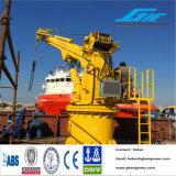 Telescopic ou Articulated hidráulico Jib Boom Quay Crane