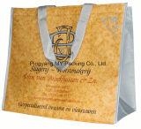 Пользовательский размер не тканого молнией обед мешок мешок для упаковки продуктов питания