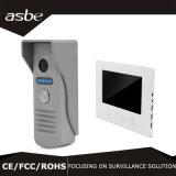 """Câmera de sistema panorâmico sem fio da segurança do CCTV Vr do Doorbell de WiFi com os 7 """" TFT"""