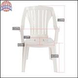 Chaise de détente en plastique côté piscine Chaise en plastique Chaise de patio Mobilier de jardin