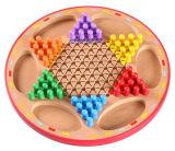 Seis cores de madeira de boa qualidade arvorando o xadrez