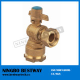 Ball d'ottone Valve con Lock Hot Sale Price (BW-L04)