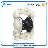 Qbkの化学薬品のためのプラスチック空気ダイヤフラムポンプ
