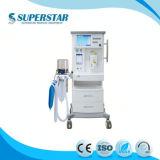 Dm6uma estação de anestesia UTI veterinária