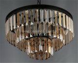 Iluminação interior da lâmpada do pendente da forma da decoração de Phine com o cristal K9
