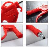 Пистолет для пыли вентилятора фена пневматического ручного инструмента очистите (KS-25 красного цвета)