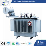 11/0.4kv tipo Oil-Immersed Transformador de Distribuição de Energia Trifásica