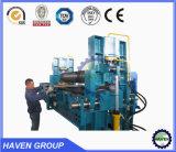 Machines hydraulique de dépliement en acier et de roulement de plaque de 3 rouleau W11S-10X3000