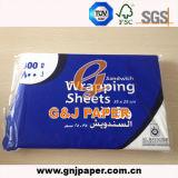 100 % de pâte à papier vierge Mg papier sulfite d'burger au poulet de l'emballage