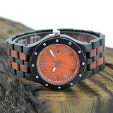 Relógio de madeira do estilo novo por atacado direto da fábrica do OEM
