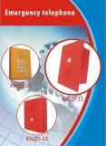 Um botão de chamada de intercomunicador de elevador de discagem automática