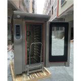Horno eléctrico de la convección de la máquina 12-Tray del pan de la hornada para las ventas