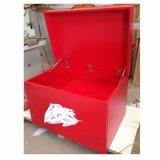 Almacenamiento de la zapata de la caja de zapatos de madera a medida personalizada